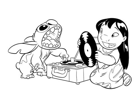 lilo and stitch coloring pages free printable lilo and stitch coloring pages for