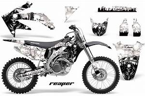 honda motocross graphic kits honda mx decals and With honda 500 dirt bike