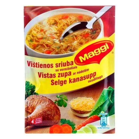 PP.lv Pārtika un dzērieni: Maggi dzidrā vistas zupa ar ...