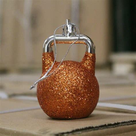kettlebell ornaments
