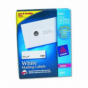 avery dennison easy peel white address label addrs 1x2 With avery 3x4 labels