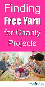Thankyou Note Finding Free Yarn For Charity Projects Thriftyfun