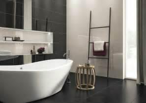 pictures of tiled bathrooms for ideas la salle de bain noir et blanc les dernières tendances