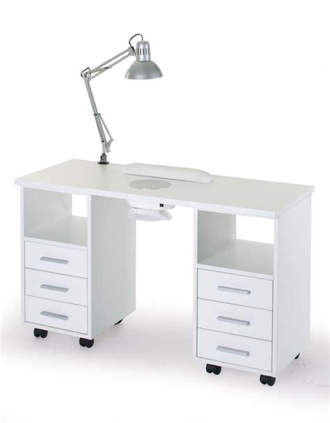 tavoli per manicure con aspiratore tavolo unghie con coppia cassettiera e aspiratore
