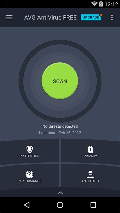 free avast antivirus for android tablet avg antivirus free for android security 2017 android