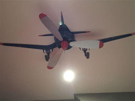 Airplane Propeller Ceiling Fan Australia by Ventilateur De Plafond Maquill 233 En Avion 224 H 233 Lices