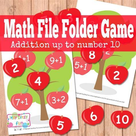 Apple Tree Math File Folder Game - itsybitsyfun.com ...