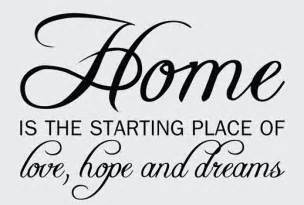 Home Decor Quotes Wall