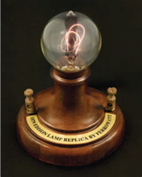 edison light bulb history aamsco lighting