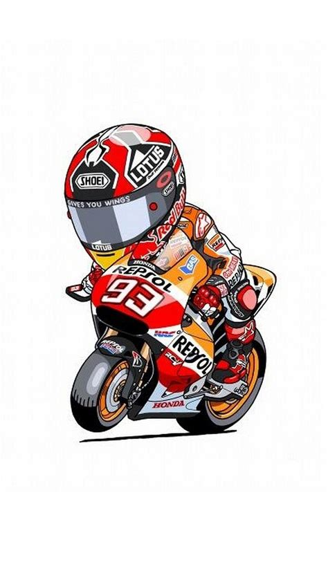 Animated Bikes Wallpapers - animated marc marquez iphone wallpaper road racing