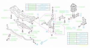 2009 Subaru Impreza Link Assembly-front Stabilizer  Suspension  Opc  Brakes
