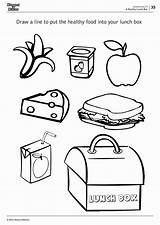 Lunch Box Worksheets Coloring Lunchbox Drawing Pages Printable Children Number Getdrawings Math Grade Workbook Answers Kindergarten Kaynak Childrens sketch template