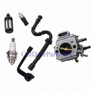Carburetor Fuel    Oil Filter For Stihl Ms290 Ms310 Ms390 029 039 Chainsaw Parts