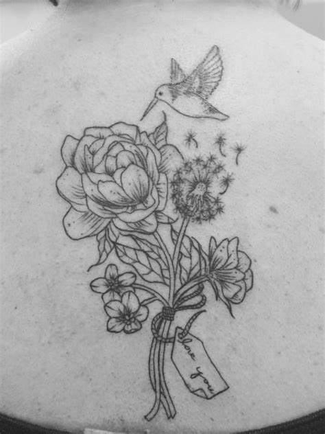 Tattoos Peony Hummingbird Tattoosubmit Your Tattoo
