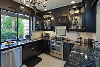 black cabinets in kitchen 46 Kitchens With Dark Cabinets (Black Kitchen Pictures)