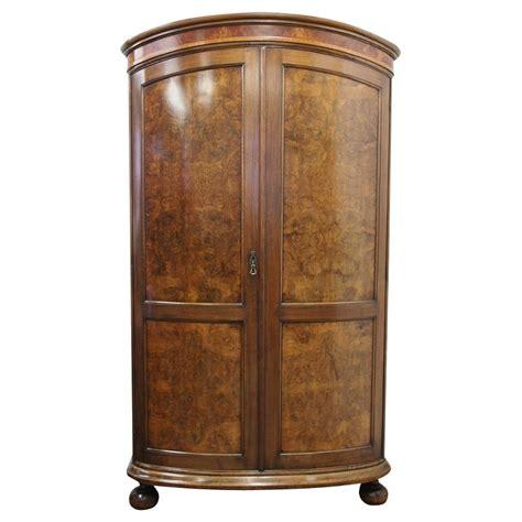 Walnut Wardrobe by Antique Walnut And Burr Walnut Wardrobe By Whytock And