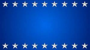 White Star Border And Blue Background Stock Footage Video ...
