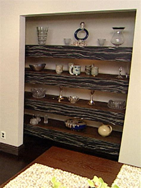 How To Build Floating Shelves With Accent Timber Hgtv
