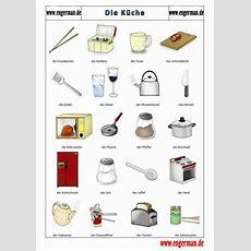 Deutsch, Vocabulary And Kitchens On Pinterest