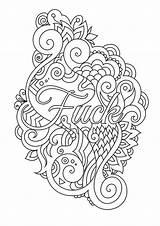 Coloring Adult Swear Zu Words Brittany Zen Verkaufen Dinge Handgefertigten Ort Ihr Kaufen Alle Um Smith Doodle Word sketch template