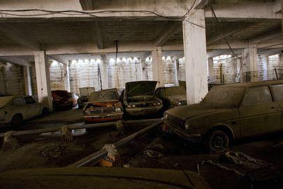Abandoned Car Dealership In Cyprus, Un Buffer Zone