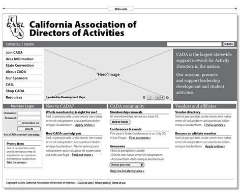 Wireframe For Cada Site  Site Map And Wireframe Ideas