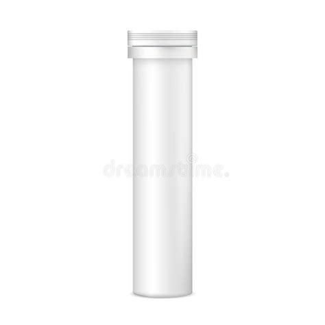 Every mockup is free, every mockups is easy to download. Plastic Tablets Tube Mockup - Front View Stock Vector ...