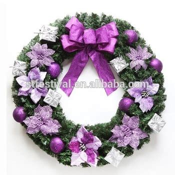 yiwu factory wholesale christmas wreath decorations