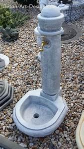 Wasserhahn Für Garten : beton art design onlineshop f r gartenfiguren springbrunnen gartenbrunnen sockel s ulen torpf ~ Watch28wear.com Haus und Dekorationen