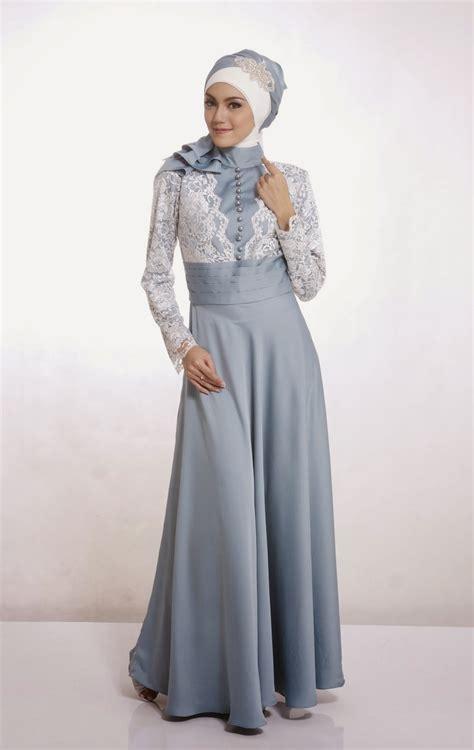 model baju pesta muslimah terpopuler