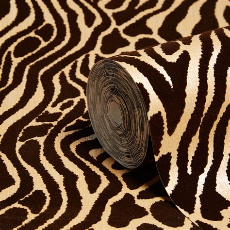 easy tiger caffe gold animal print wallpaper departments