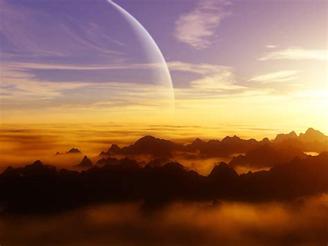 Wallpapers Alien Sunset Wallpapers