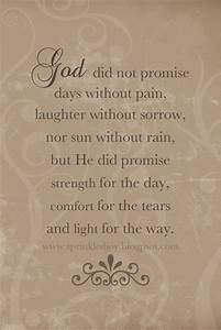 Quotes About Go... Jesus Promise Quotes