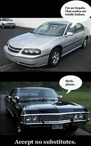 Impala Baby Supernatural | Supernatural | Pinterest