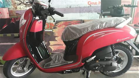 Harga Motor Scoopy 2016 by Motor Scoopy Terbaru 2016 Warna Merah Classycloud Co
