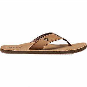 Reef Leather Smoothy Flip Flop - Men's | Backcountry.com