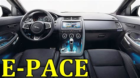jaguar  pace interior youtube