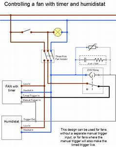 Wiring Diagram For Extractor Fan Without Timer