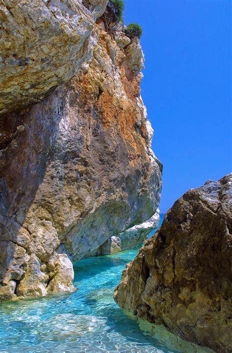 Pelion Rocks Greece Greece Pinterest