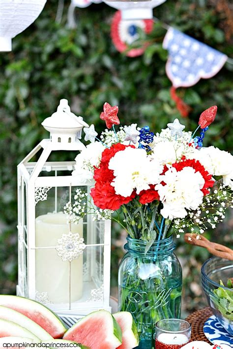Outdoor Decorating Ideas For The Fourth July