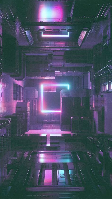 Glitch Purple Neon Aesthetic Wallpaper by Pin By Levi Melgar On Wallpaper Vaporwave Neon Noir