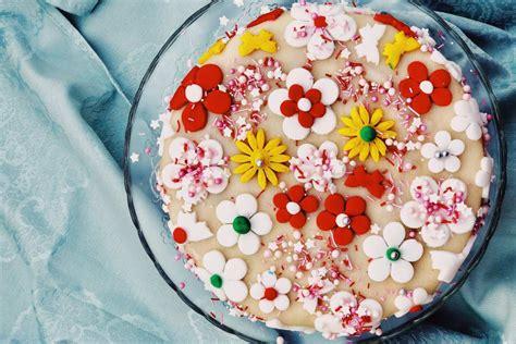 Kuchen Idee by Torte Zum Geburtstag Meine Erste Torte Mit Fondant Deko