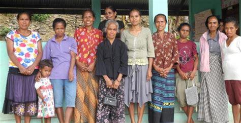Timor Leste The Village With A Woman Chief Progressio
