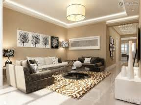 Living Room Design Ideas Hanging Lamp Soft Brown Carpet