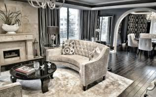 Old Hollywood Glamour Decor by Interior Design Ideas For A Glamorous Living Room