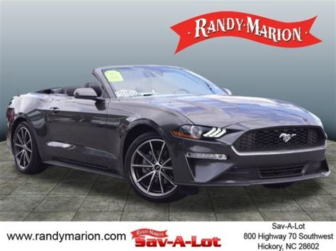 ford mustang  sale  charlotte nc  cars