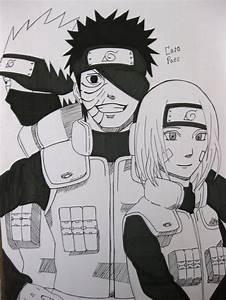 Kakashi, Obito and Rin - Fanart Draw by EvilCaio on DeviantArt