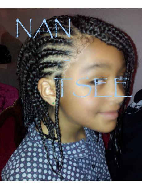 tresse africaine enfant coiffure africaine enfants