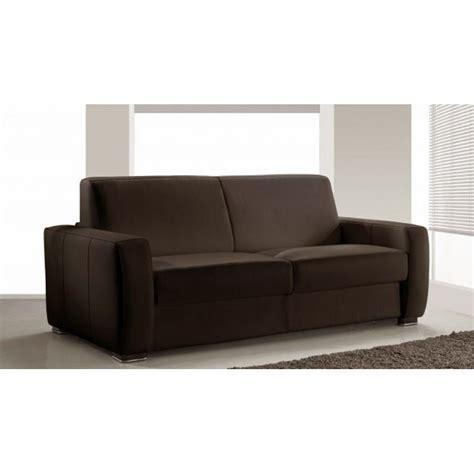 canapé cuir vachette canapé lit rapido en cuir de vachette pas cher