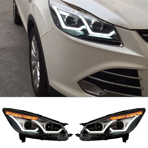 new car styling headlight light for ford kuga escape